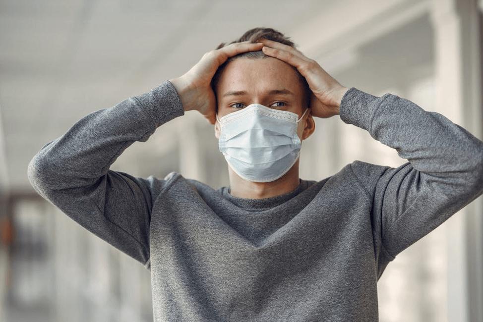 コロナウイルスかどうか見極める体調に関する英語表現